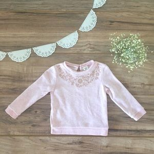 Light Pink Oshkosh Sweater 🎀